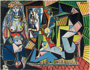 Pablo Picasso, Les Femmes d'Alger ('Version O'), 1955, Oil on Canvas, Christie's Auction, 2015