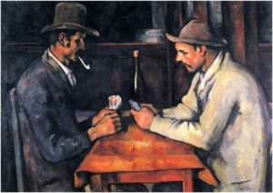 Paul Cezanne, The Card Players, 1895, Oil on Canvas