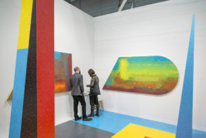 Klaus von Nitchssagend Gallery Booth at Armory Show 2016 (Photo by Adam Reich for Artsy)