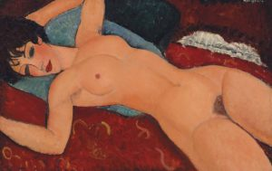 Amadeo Modigliani, Nu Couché (1917)