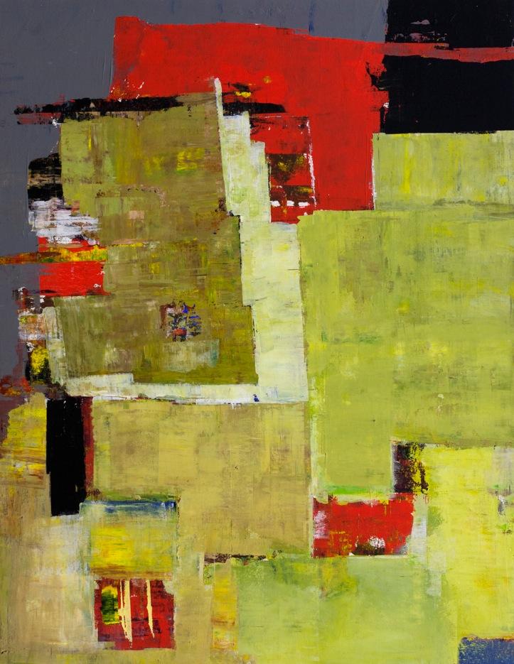 John McCaw #4 36×28 Acrylic on Canvas