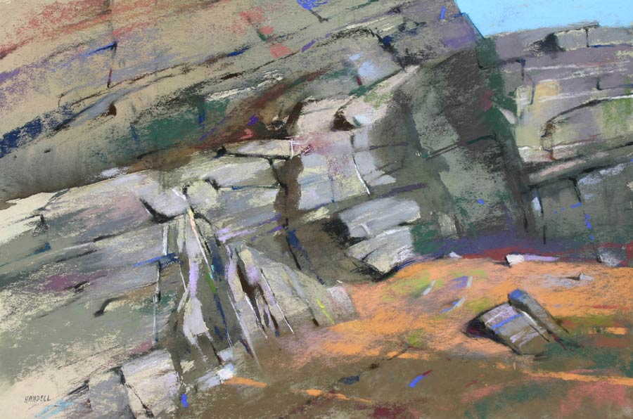 Handell_A-PASSING-MOMENT_low-res_-Pastel-12-X-18—$7,000