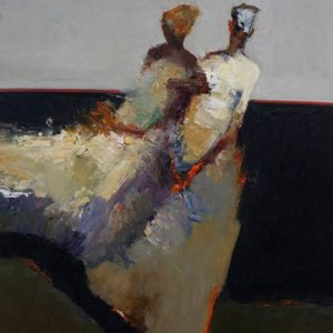 McCaw_Danny_Ballerinas_30-x-24_Oil-on-Board_$6,800-square