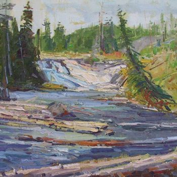 Sahli_Don_-Yellowstone-Falls-16x20-_$2,800