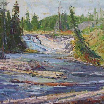 Sahli_Don_-Yellowstone-Falls-16x20-_$2,800