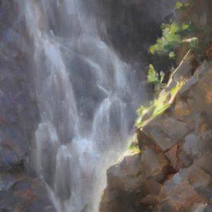 santillanes-david_fish-creek-falls-study_oil_16-x-12_1800-square