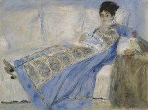 Portrait of Madame Claude Monet, ca. 1872-74, oil on canvas, Lisboa, Museu Calouste Gulbenkian