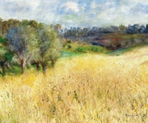 Wheatfield (detail), 1879, oil on canvas, Carmen Thyssen-Bornemisza Collection, Madrid