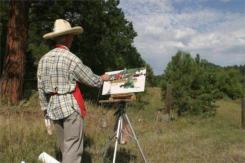 Robert Spooner, Windows Paint Out 2009