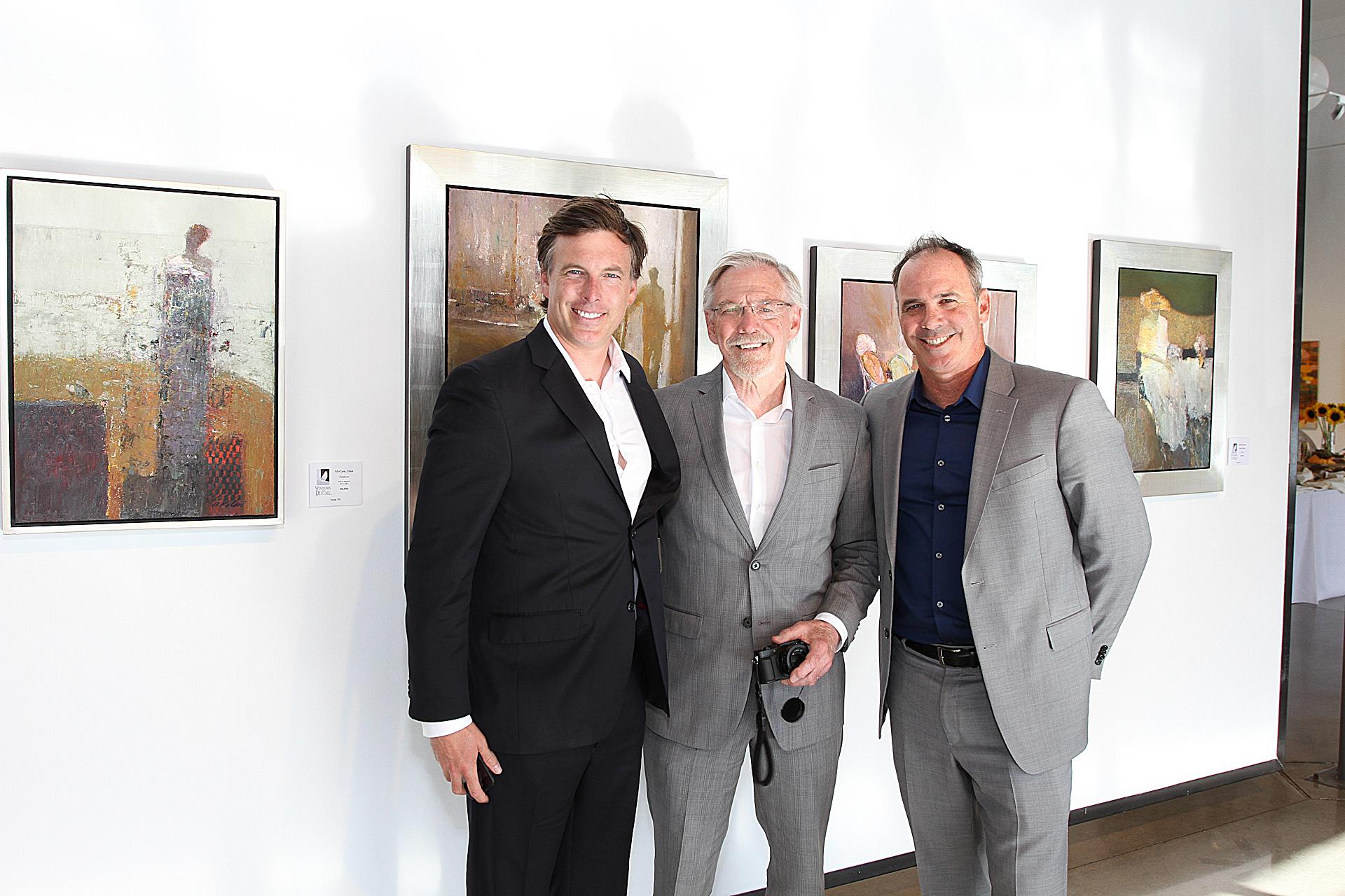 01 – IMG_4959_Opening Gala_Danny McCaw, Dan McCaw, John McCaw