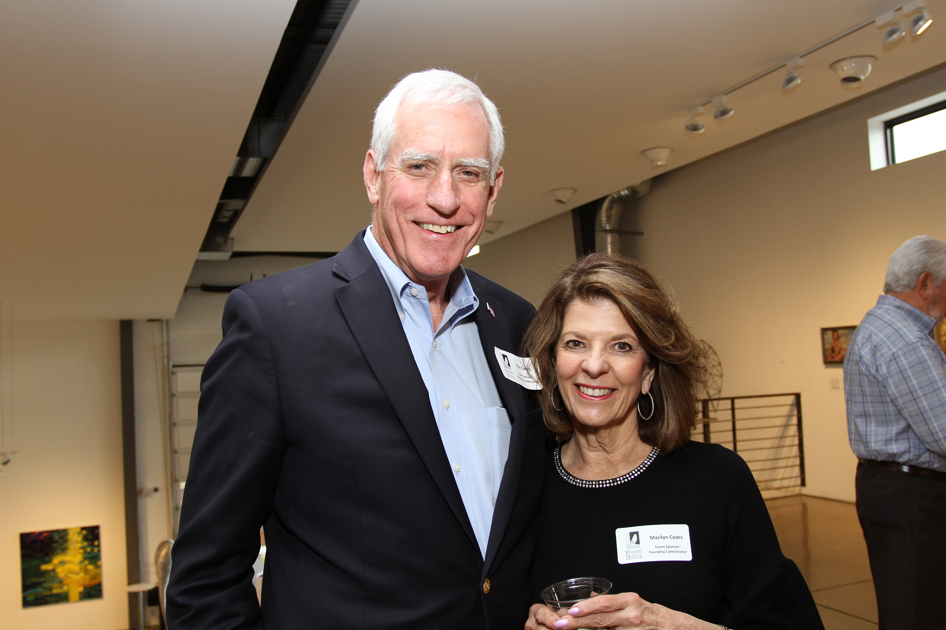 03 – IMG_4993_Opening Gala_Event Sponsors, Pete & Marilyn Coors