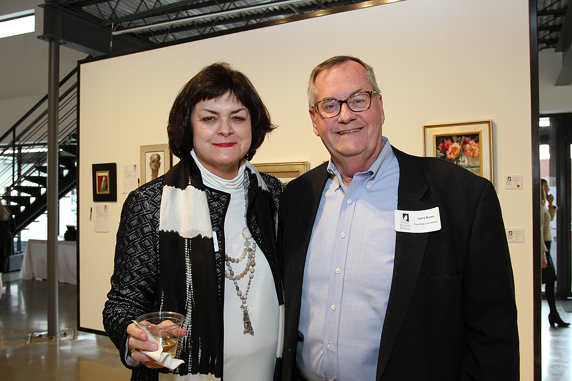 05 – IMG_4983_Opening Gala_Founding Connoisseurs, Cindy & Larry Burns