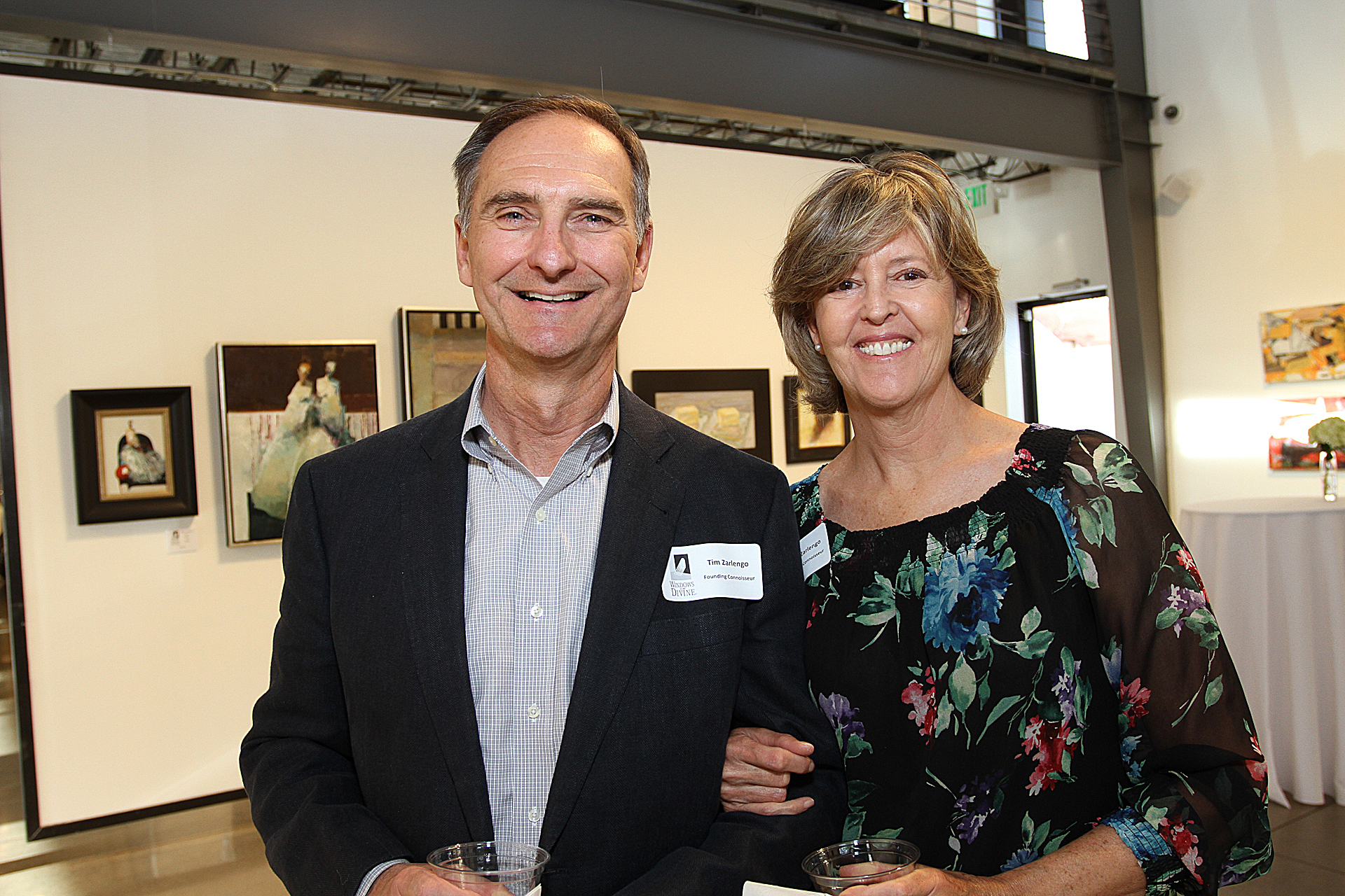 08 – IMG_4986_Opening Gala_Founding Connoisseurs, Tim & Tracy Zarlengo