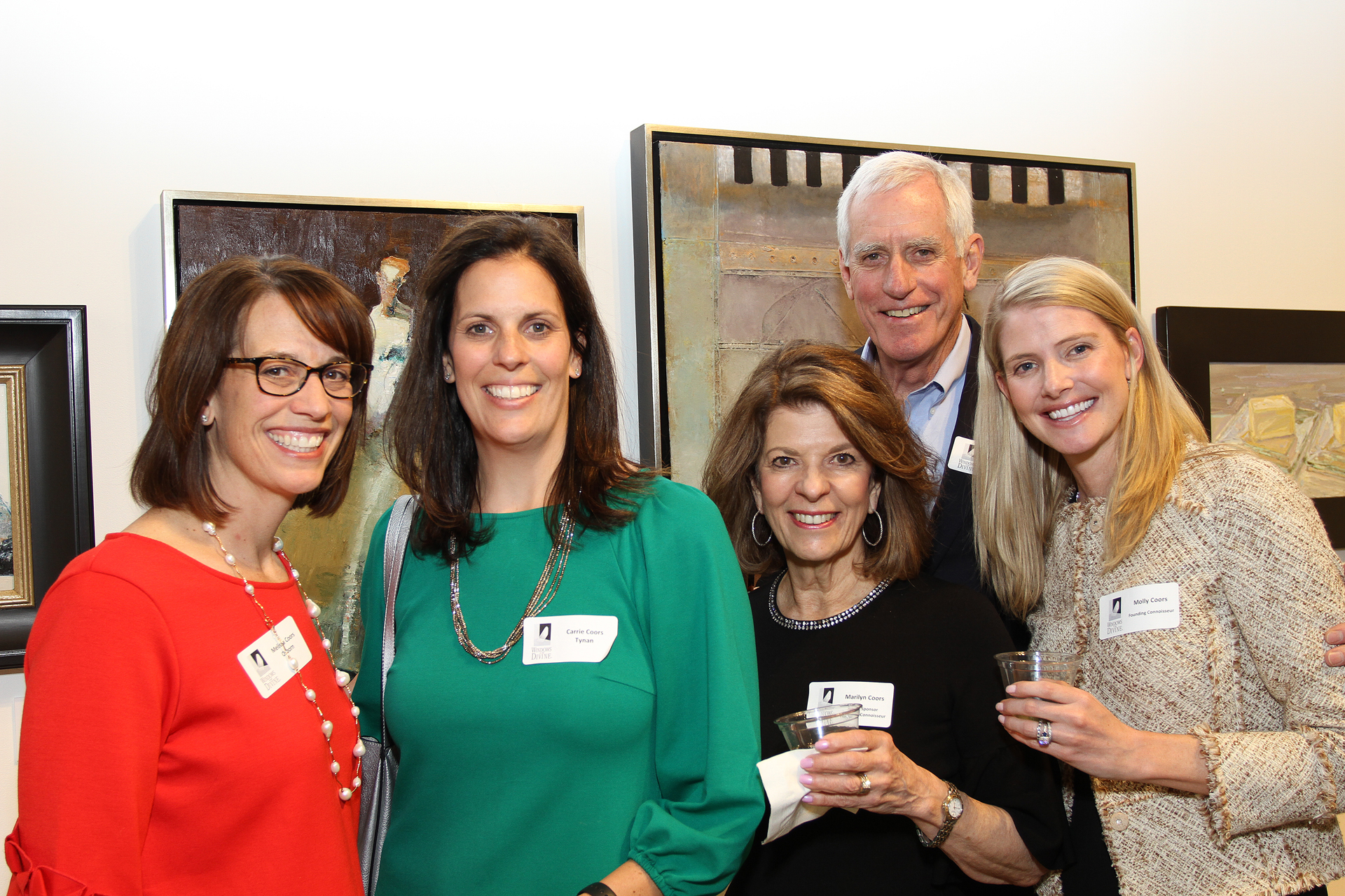 17 – IMG_5001_Opening Gala_Melissa Osborn, Carrie Tynan, Marilyn Coors, Pete Coors, Molly Coors
