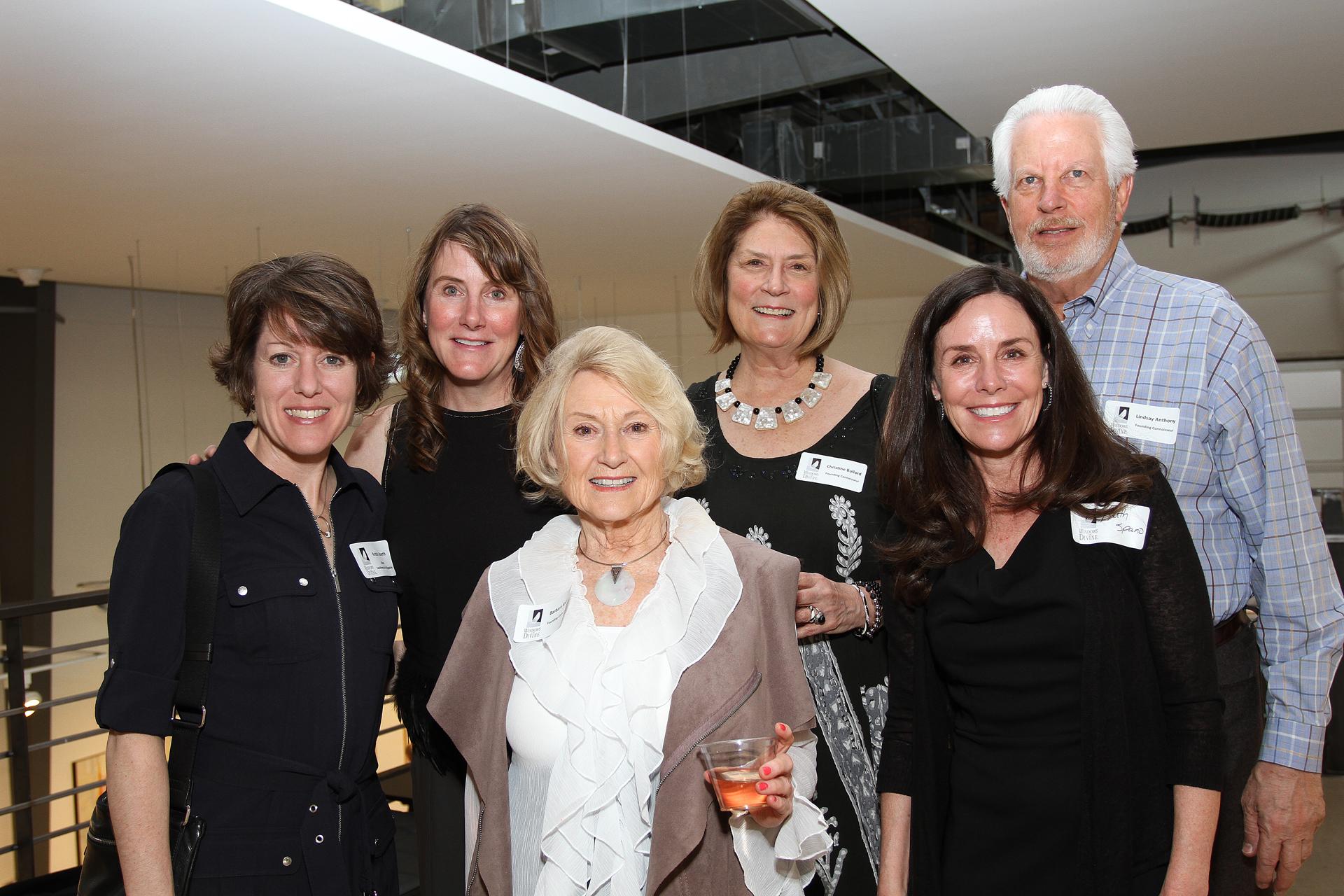20 – IMG_5006_Opening Gala_SWA Editor Kristen Hoerth, Founding Connoisseurs Kimberly Moore, Barbara Knight, Christine Bullard, Lindsay Anthony