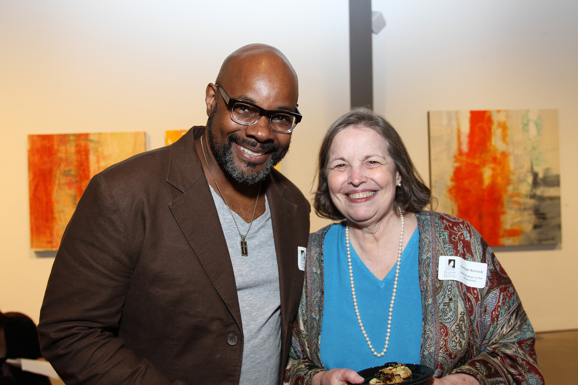 29 – IMG_5061_Opening Gala_Windows 2018 Artists, Ron Hicks & Carolyn Barlock