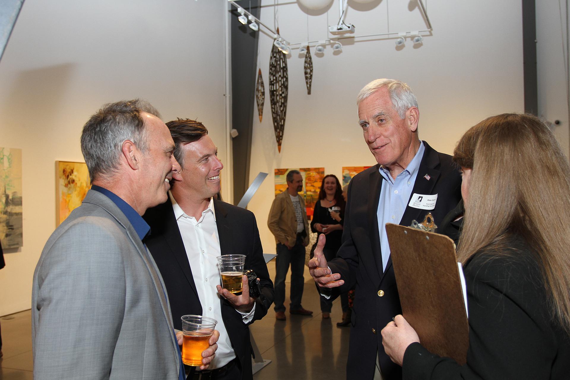 30 – IMG_5060_Opening Gala_Windows Artists John McCaw, Danny McCaw, Pete Coors & Shannon Robinson