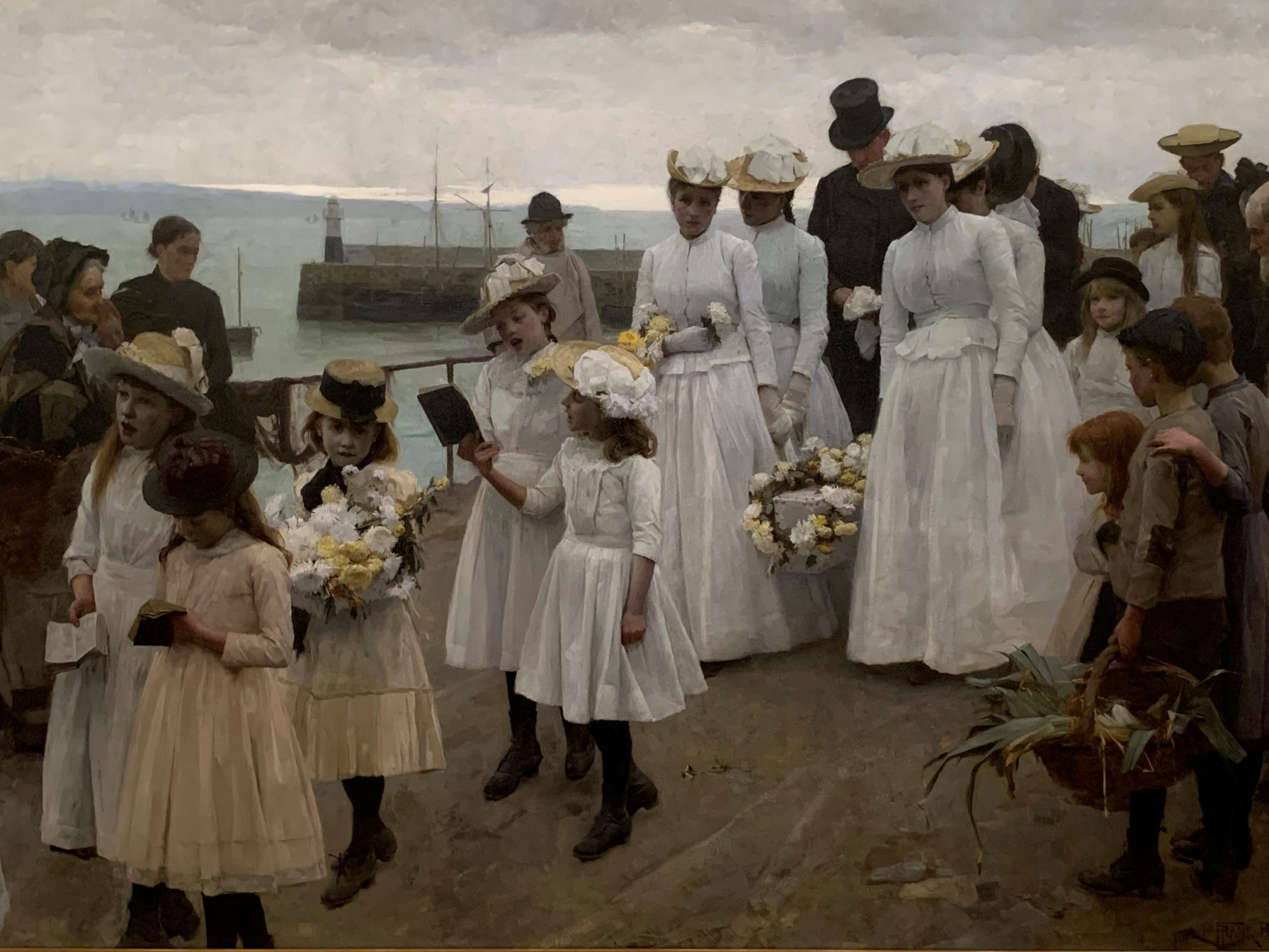 Frank Bramley, <em>For of Such is the Kingdom of Heaven</em>, 1891, Auckland Art Gallery (Mackelvie Trust, 1913)