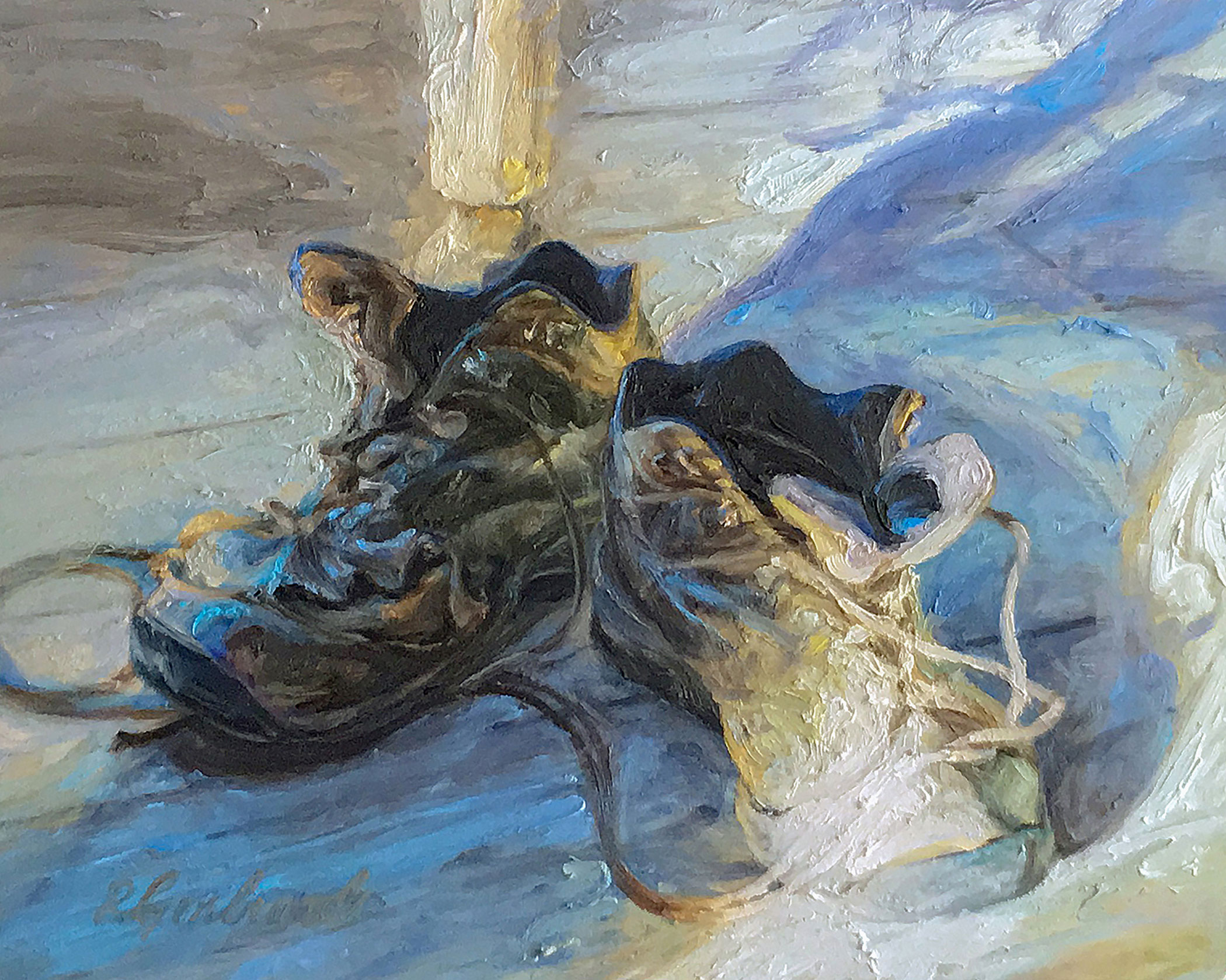 Gerbrandt_Ron__low-res_Work-Boots_Oil_8x10_$910