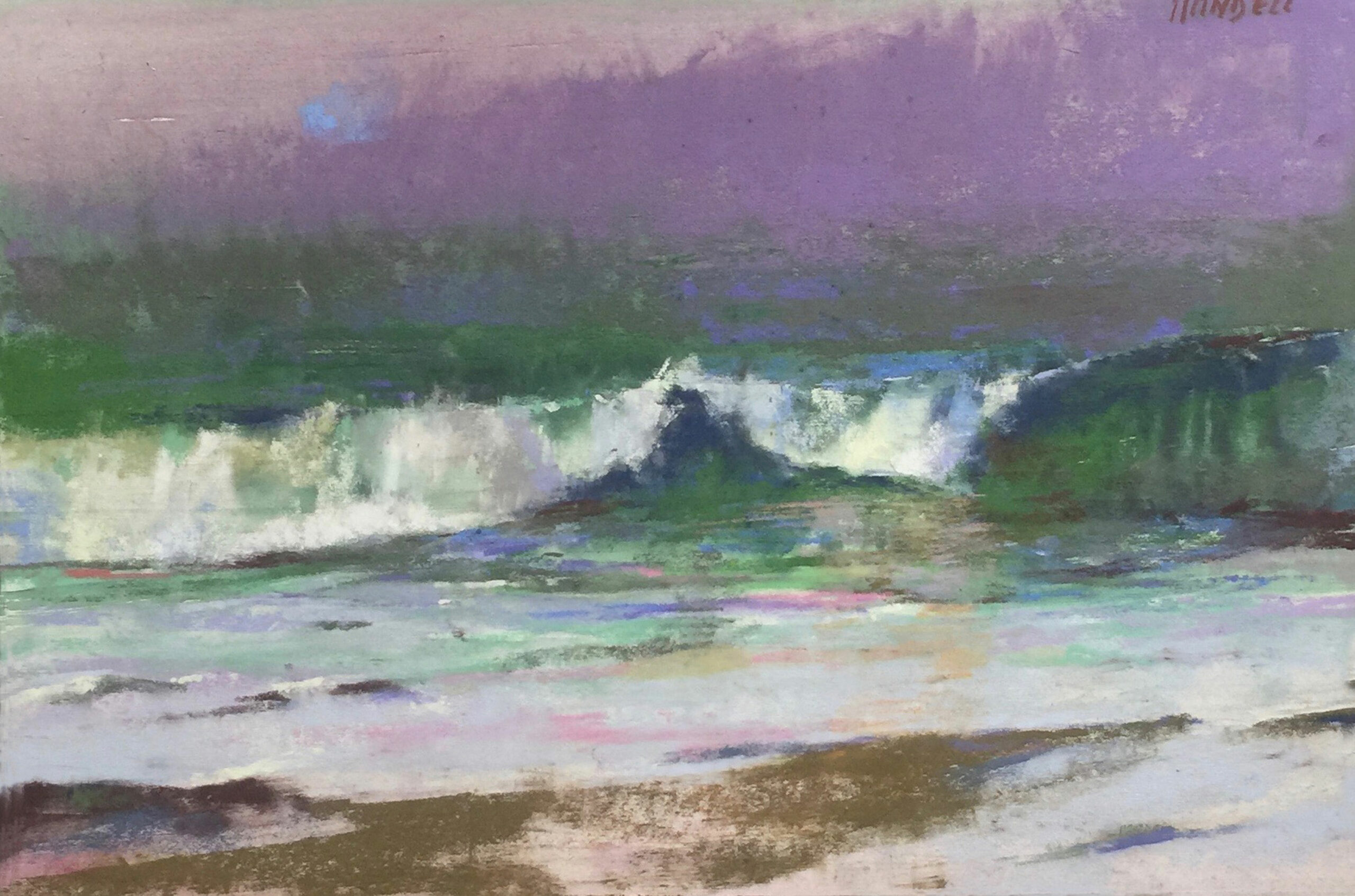 Handell,-Albert,-2016-Fra-Angelico-Artist-of-the-Year,-High-Tide,-pastel-12×18,-$3,800-_$6,500-retail-regularly300dpi