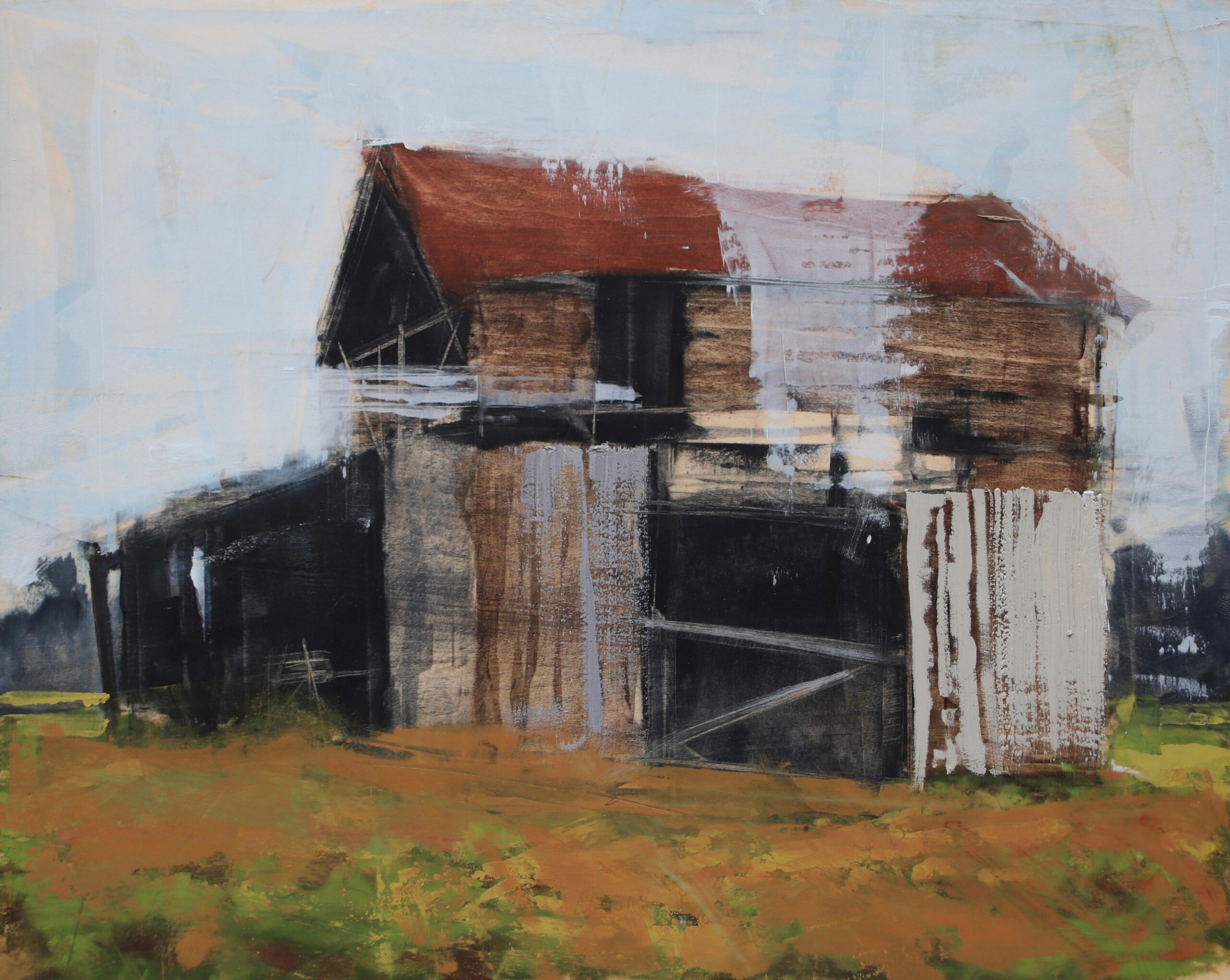 Hartshorn,-Stephanie,-Barn-Wood,-16-x-20,-oil,-$2,100