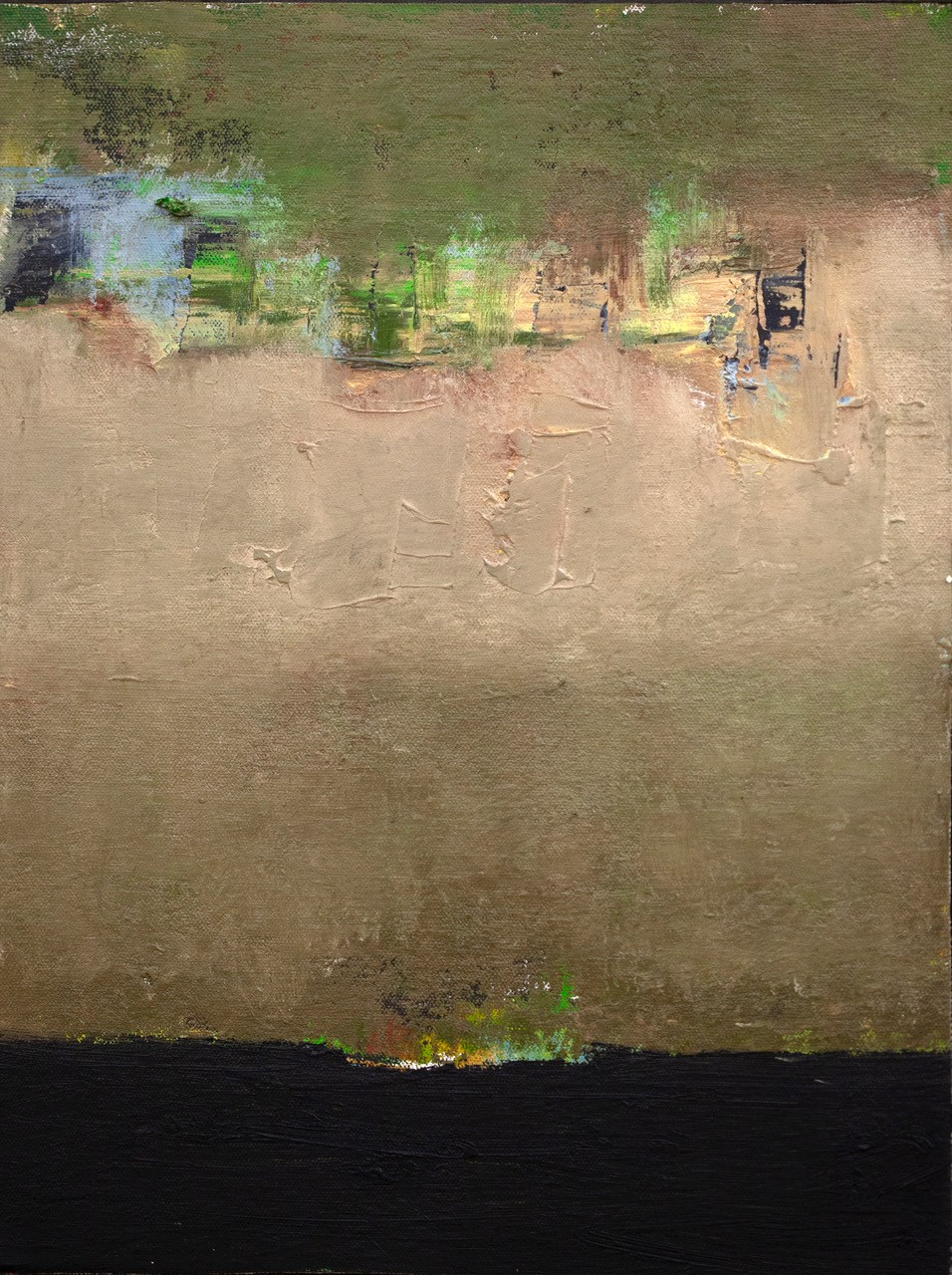 McCaw, John, Through It All, Mixed media_canvas on board_-16 x12_$1,200