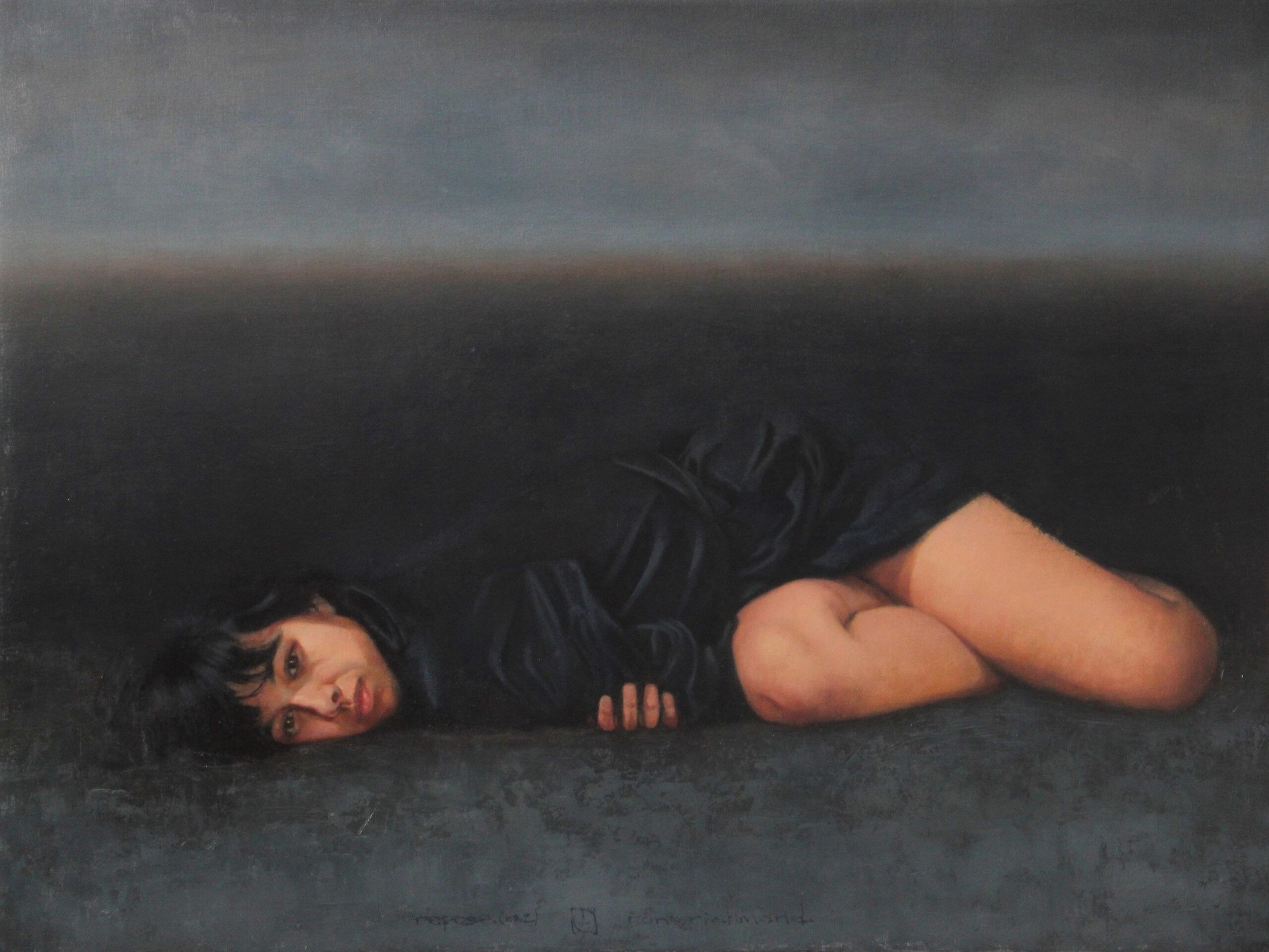 Ron-Richmond-repose-(no.-2)_oil-on-board,-24-x-32_$3,600