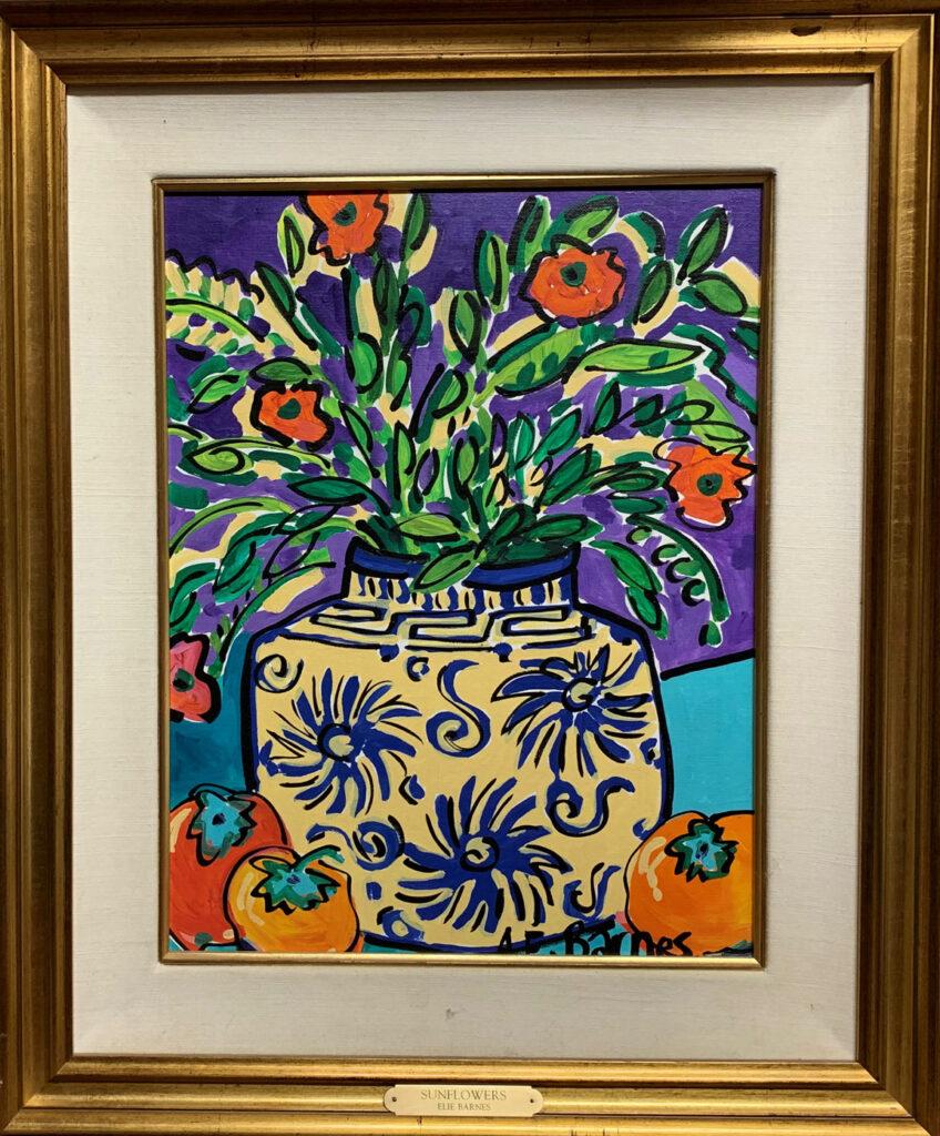 Barnes,-Elie,-Sunflowers