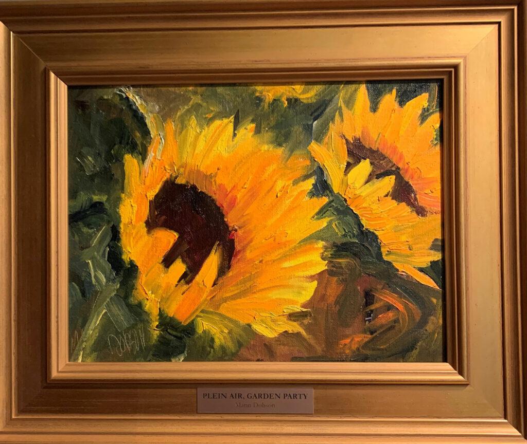 Dobson-Marin-Sunflowers-Plein-Air-Garden-Party